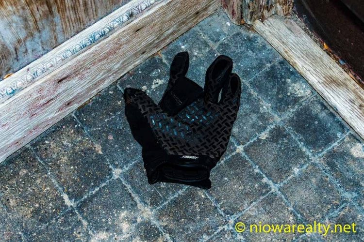 Missing a Glove