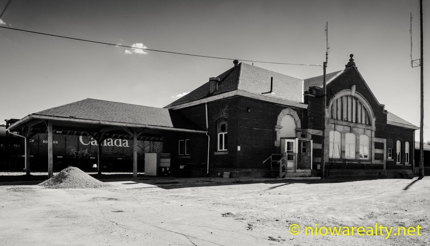 Mason City's Milwaukee Depot