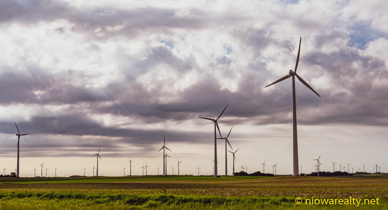 Sixty Wind Turbines