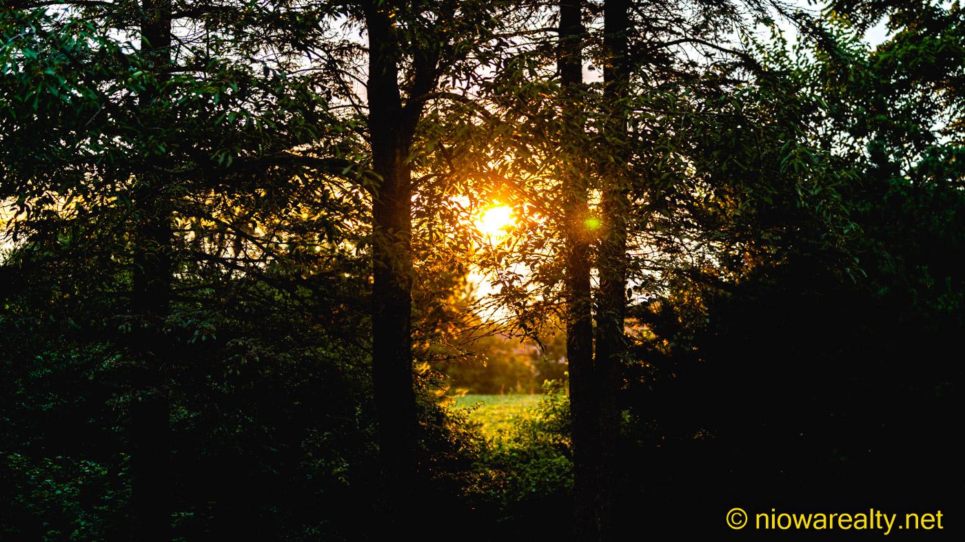 A Sun Rising