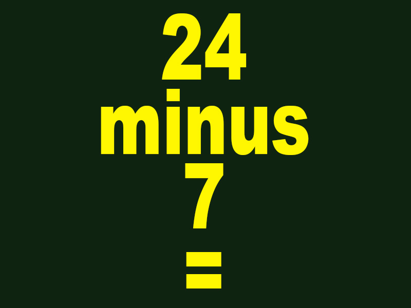 24-minus-7