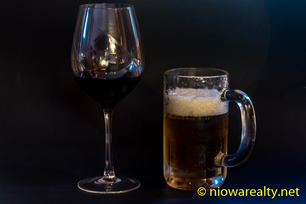 A Taste for Beer or Wine