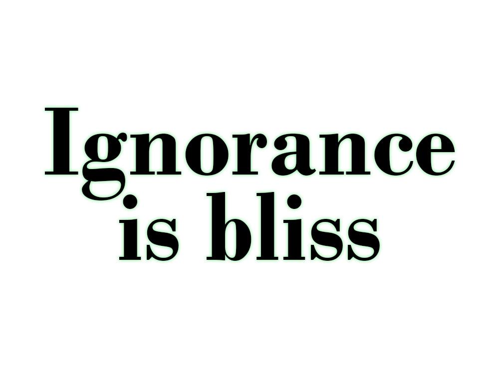 Knowledge-vs-Ignorance