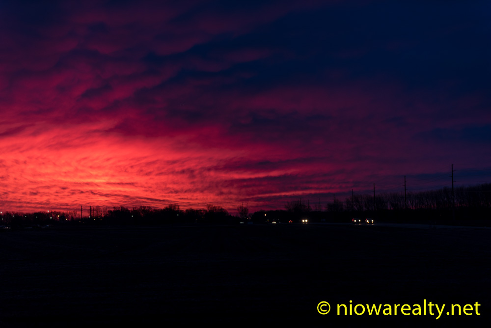 Red Sky in Morning