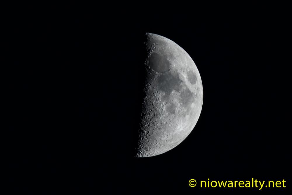 Half Moon over North Iowa